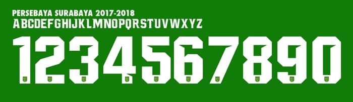 Font Persebaya 2018