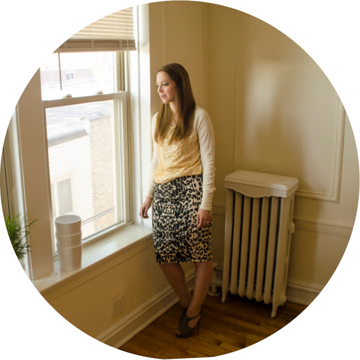 june outfit, pattern-mixing, leopard and sequins, j.crew sequin sweater, target leopard pencil skirt, business casual outfits, what to wear with, work outfit ideas, ootd, style blog, gray suede stilettos, dottybot