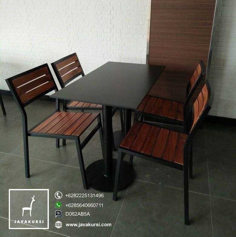 Kursi Meja Cafe Kaki Besi Minimalis Jual Furniture Kursi Jepara Terbaru
