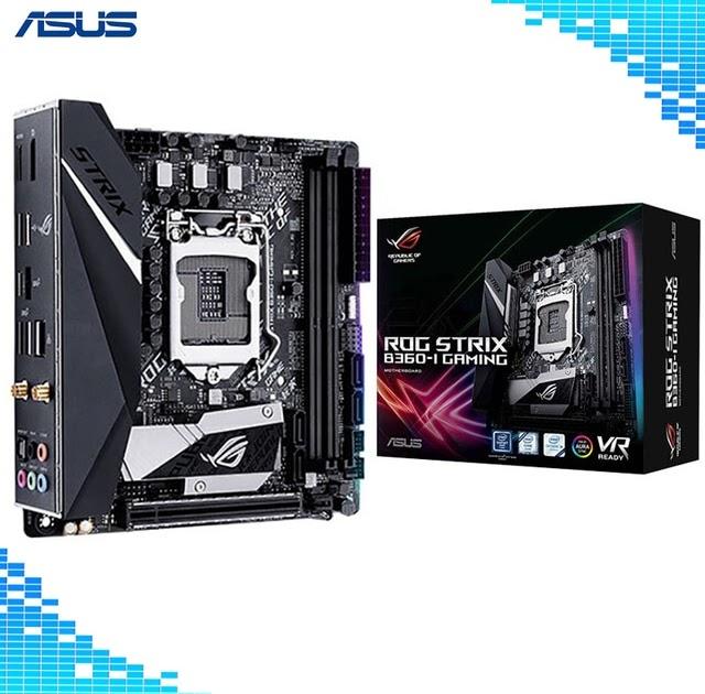 Asus ROG STRIX B360-I GAMING Desktop Motherboard Intel B360 Chipset