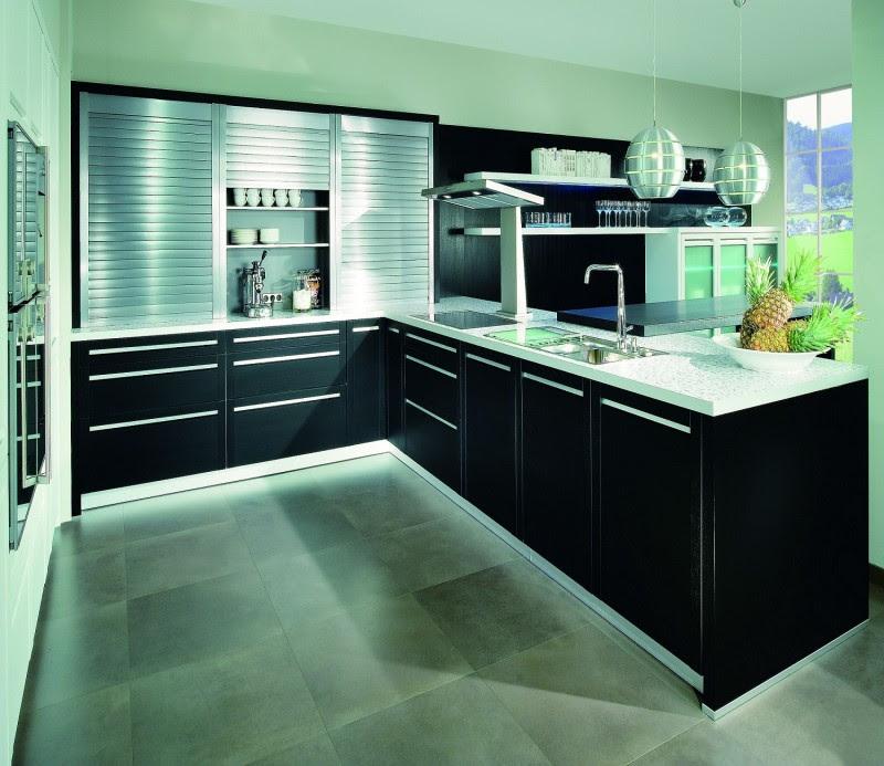 JISHENG kitchen cabinet design _ roller shutter | db-kitchen