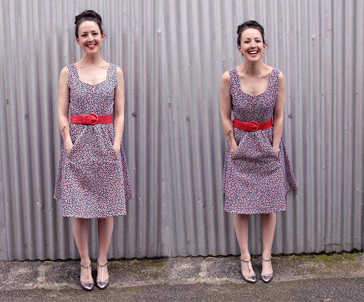Spotty Dress #1