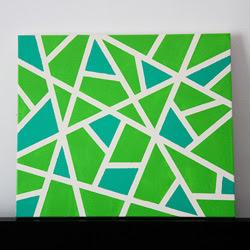 easy diy canvas wall art | craftgawker