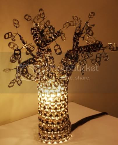 Pop Tabs Lamp