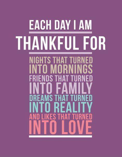 Each Day I Am Thankful Picture Quotes