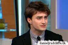 Daniel Radcliffe on The Early Show