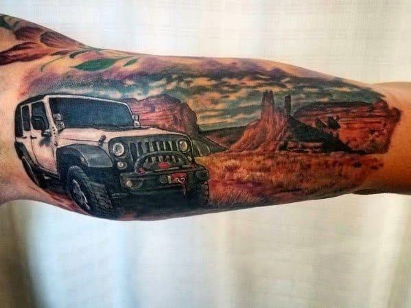Tatuagem Idéias Jipe