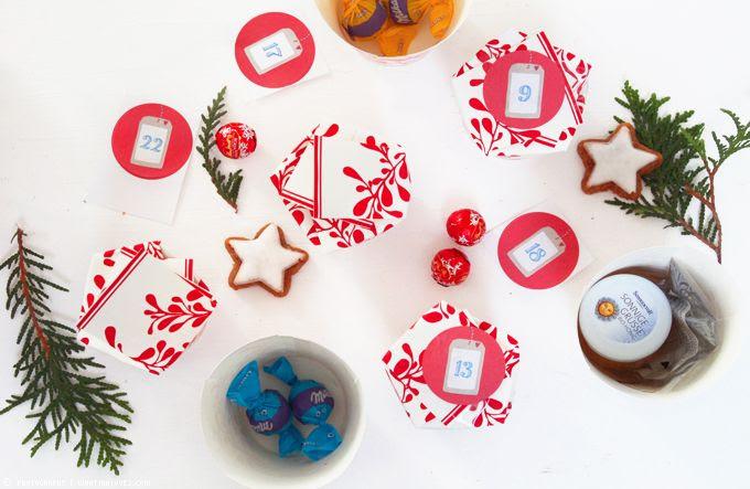 DIY, Ikea, Zahlen, Advent, selbstgemacht, Inhalt