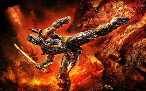 Scorpion Mortal Kombat Wallpapers   Wallpaper Cave