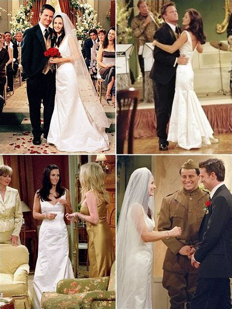 Monica Geller's wedding gown   Friends