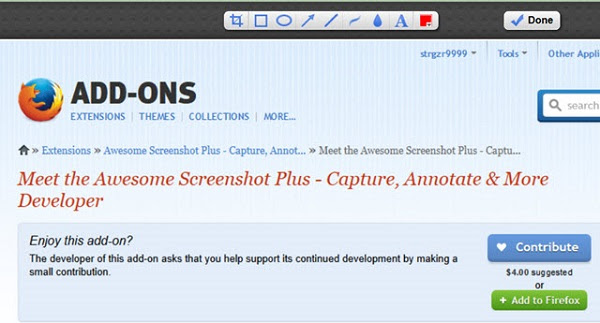 3 Best Screen Capturing Add-ons For Firefox