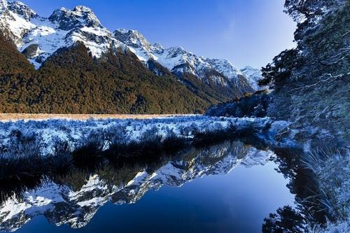 Freezing Morning At Mirror Lakes