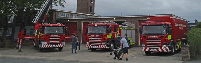 Ellesmere Port Fire Station Open Day 2017