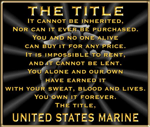My daddy, my hero! Once a Marine always a Marine. The Few the proud the Marines.