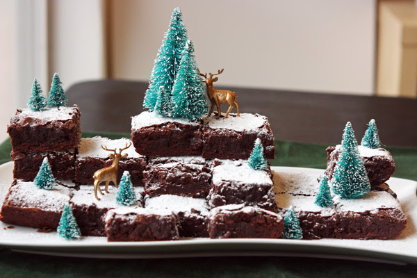Winter Wonderland Brownies 30 Pounds Of Apples
