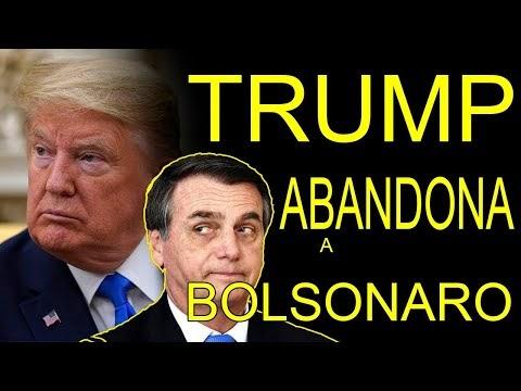 TRUMP ABANDONA A BOLSONARO