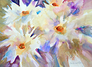 "Wind Dancers by Filomena Booth Watercolor ~ 16"" x 20"""