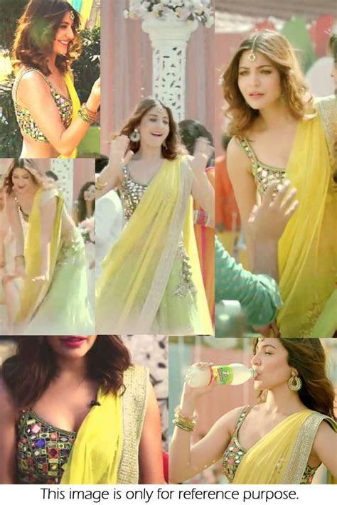 Bollywood Style Anushka Sharma Net and Velvet Lehenga In