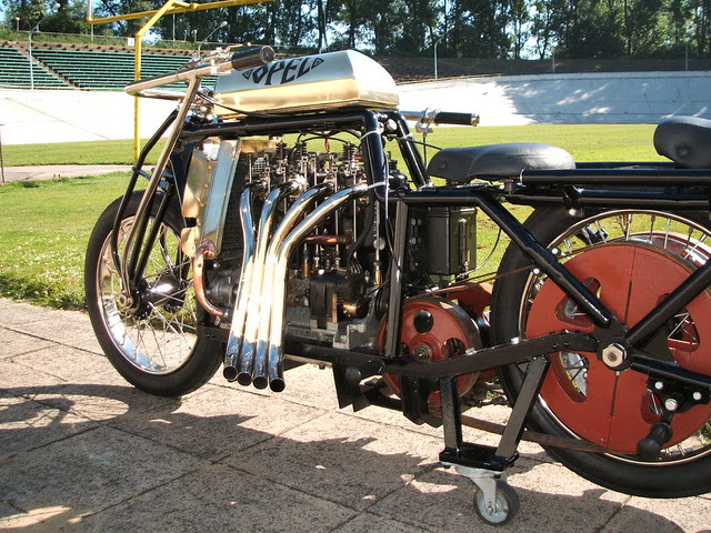 Opel Steher 4 Cylinder Pusher Motorcycle Flickr