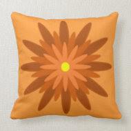 Bloom Orange throwpillow