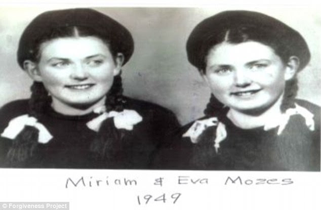 Dr Mengele conducted sickening experiments on more than 1,500 sets of twins including Miriam and Eva Kor
