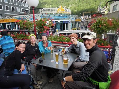 La bière à Zermatt!