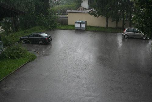 Regnen regner
