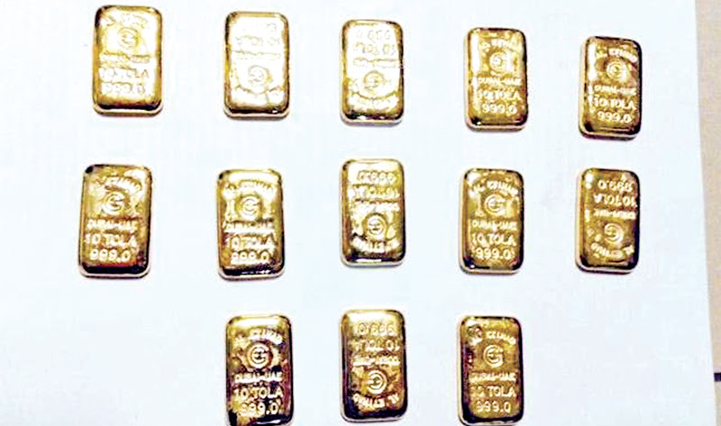 Navy foils bid to smuggle out Rs. 50 mn worth of gold