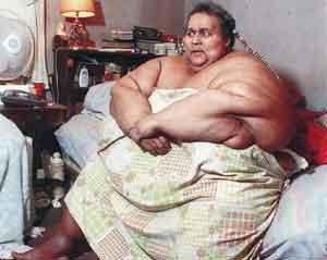 Уолтер Хадсон - один из самых толстых людей в мире