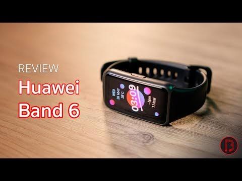 รีวิว Huawei Band 6 นาฬิกาออกกำลังกาย จอสวย ฟังก์ชันครบ ในงบ 2 พัน