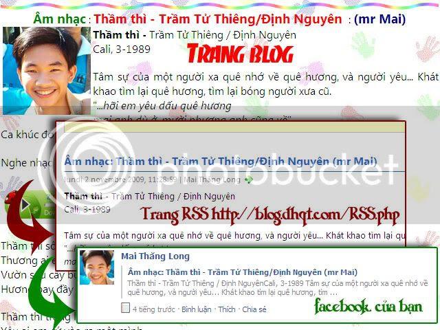 Post tự động bài đăng từ blog lên facebook