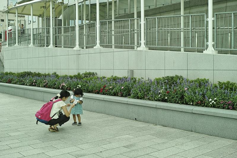 Merrill in DownTown of Tokyo