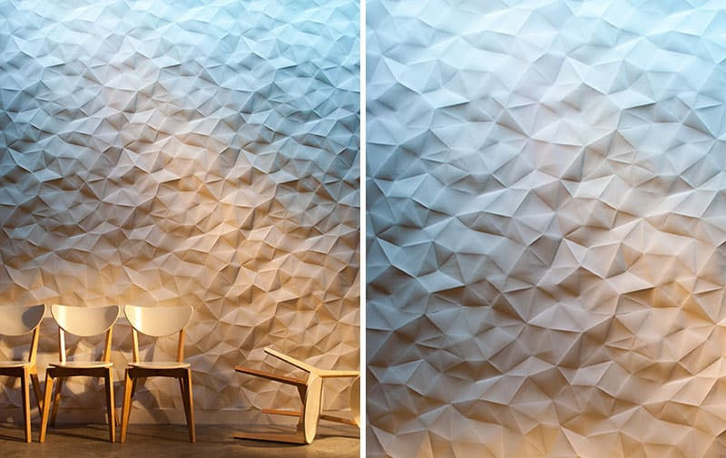 25 Spectacular 3D Wall Tile Designs To Boost Depth and Texture homesthetics ideas (22)