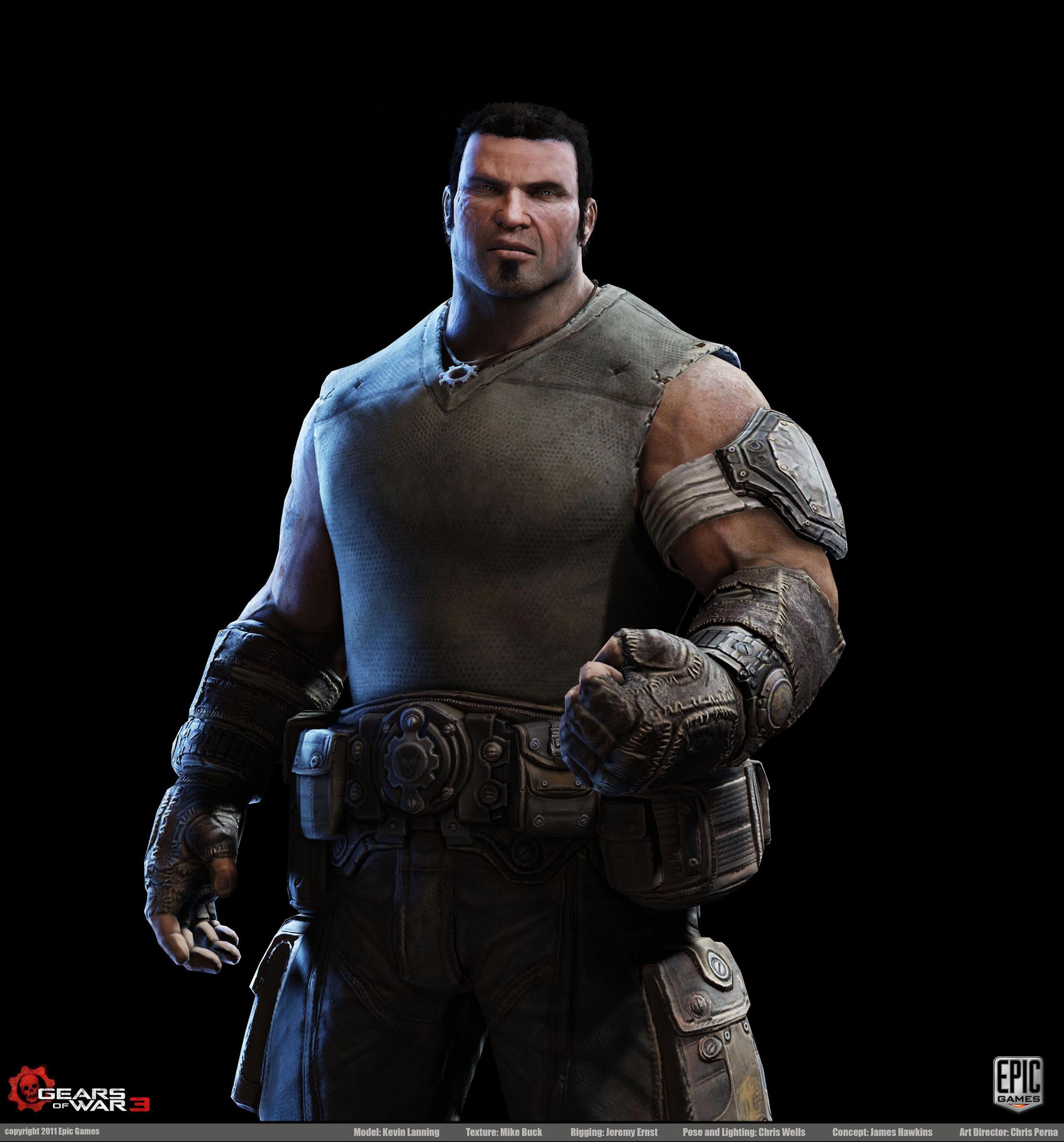 Gears Of War 3 Character Art Dump New Images Posted On Pg 17