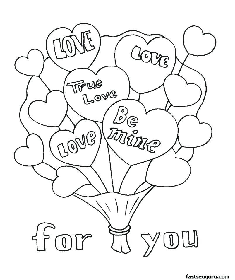 Valentines Day Coloring Pages For Sunday School at ...