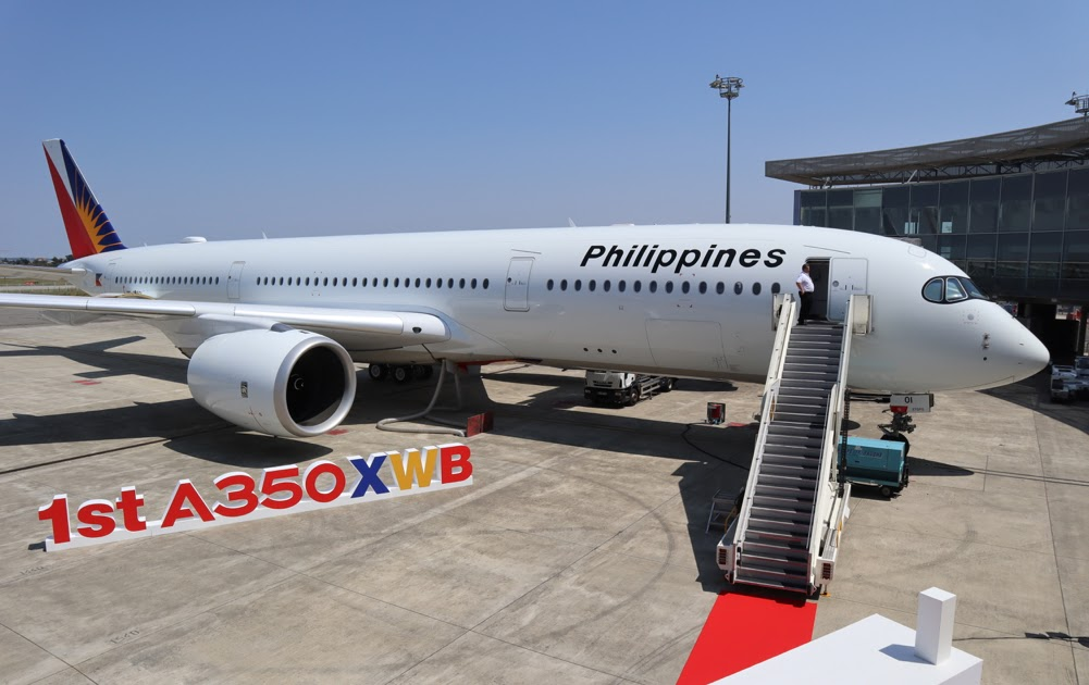 Philippine Airlines A350 Begins Flying Long Haul