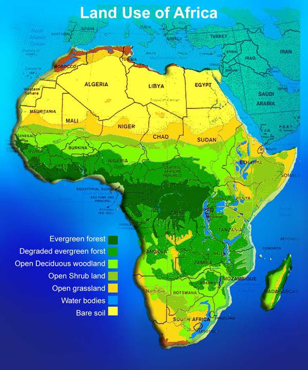 Africa Political Map Africa