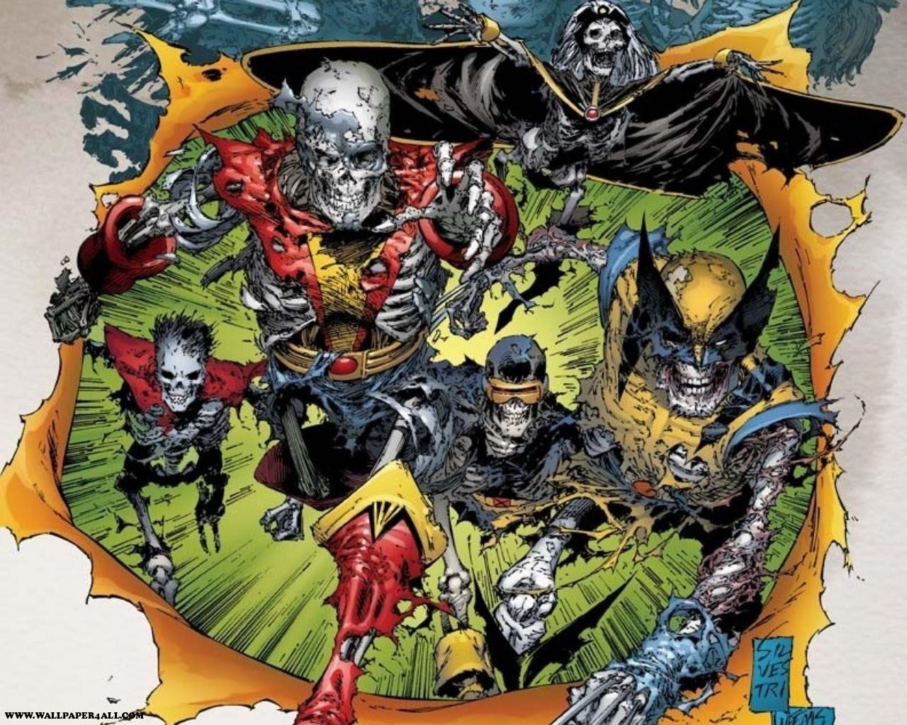 Undead X Men Marvel Comics Wallpaper 9263026 Fanpop