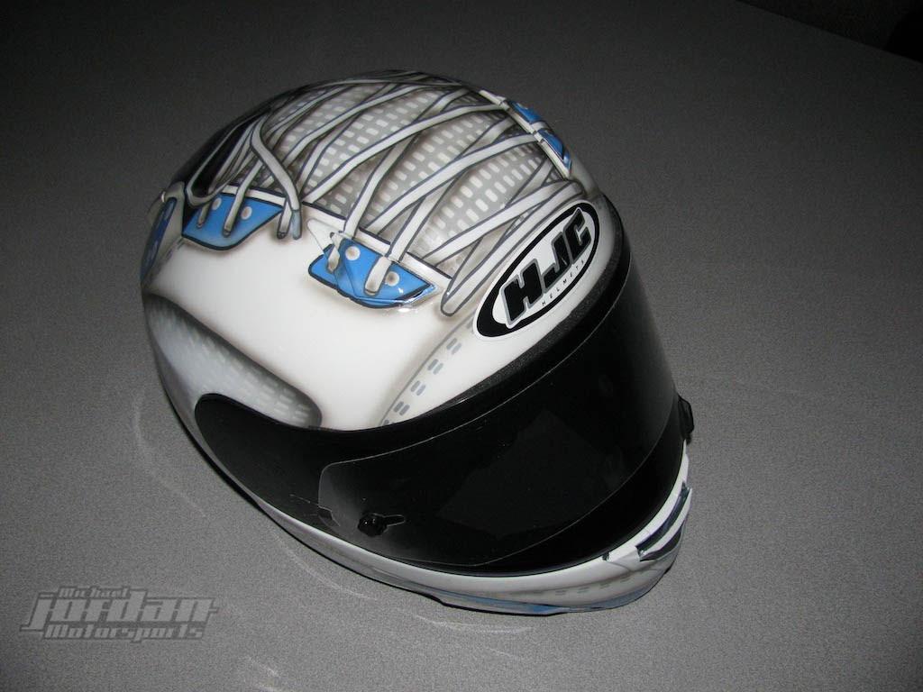 Air Jordan 5 Motorsports Retro and Helmet