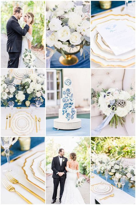 Dreamy Dusty Blue   Gold Wedding Ideas You Need to See!