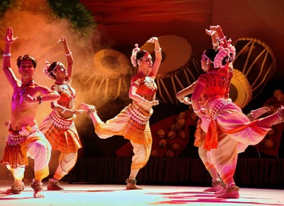 NATYANJALI DANCE FESTIVAL IS CELBRATED AS TAMIL'S NEW YEAR DAY