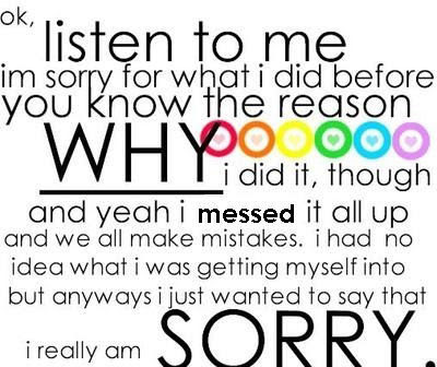 I Am Really Sorry Pictures Photos And Images For Facebook Tumblr