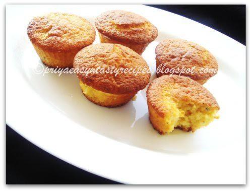 Vegan Kiwi & Cornmeal Muffins
