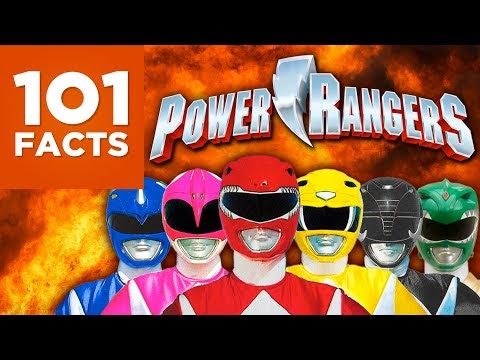 101 hechos acerca de los Power Rangers