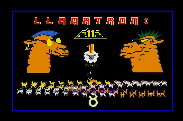 Llamatron presentación Atari ST