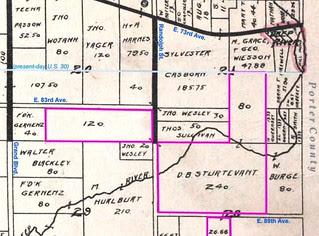 Sturtevant land, Ross Township