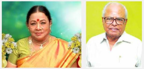 K Balachander and Manorama