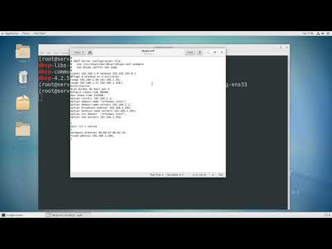 Linux Server : DHCP