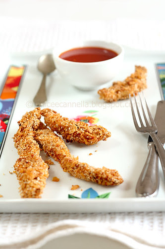 crosticini di pollo