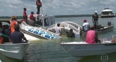 Corpos de duas crianças são encontradas e número de mortos em naufrágio no Pará sobe para 23